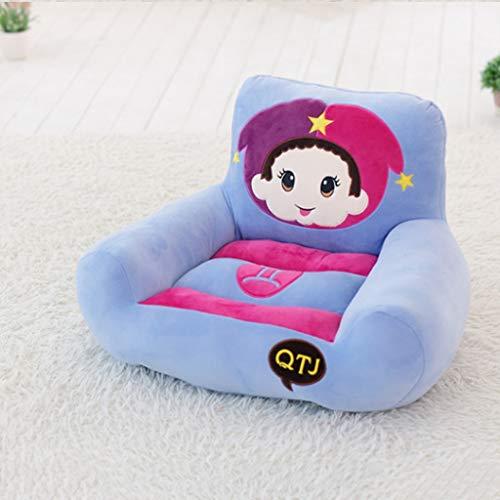 GZQDX Sofá Lujosa Silla de bebé de Juguete Relleno de la Felpa Lindo y cómodo sofá de Felpa Infantil Personalizada (Color : C)