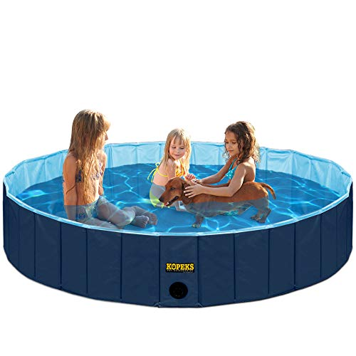 KOPEKS Round Heavy Duty PVC Outdoor Pool