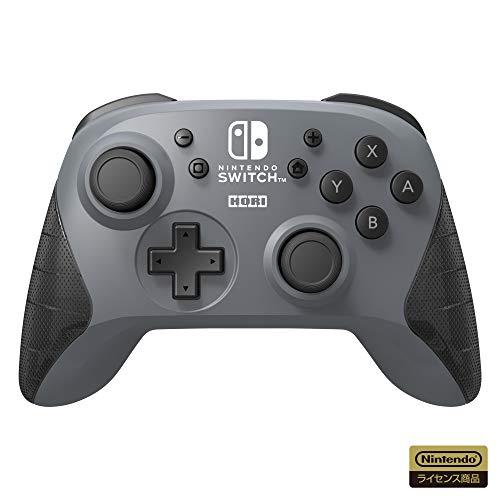 【任天堂ライセンス商品】ワイヤレスホリパッド for Nintendo Switch グレー【Nintendo Switc...