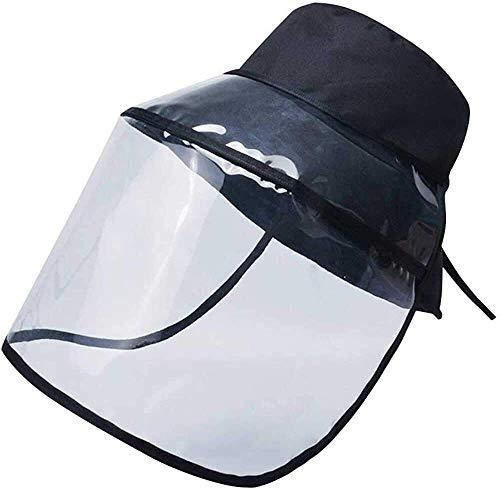 Syxfckc 10.05 / 20pcs, faltbar Transparent Sonnenhut, Fischer Hut, volles Gesicht-Außen Unisex-Staubschutz, mit veränderbarer Länge, flexibel einsetzbar als Bucket Hat (Color : 5PCS)