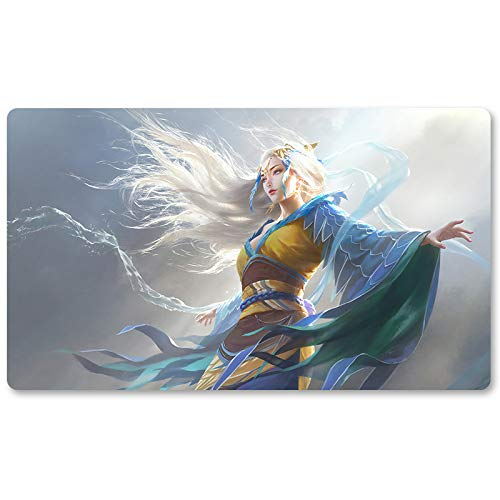 MU YANLING, Sky Dancer - Brettspiel MTG Spielmatte Tischmatte Spielmatte Spielmatte Größe 60x35 cm Mousepad Spielmatte für Yugioh Magic The Gathering