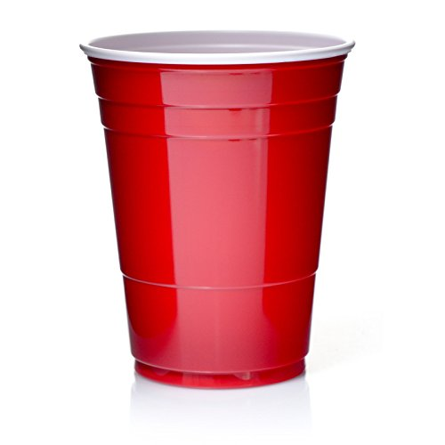 Abena Solo Cups 16oz Rote Becher 50 Red Cup Original USA