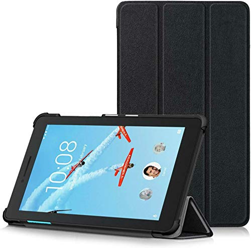 BNBUKLTD Funda compatible con Lenovo Tab E7 Premium Smart Book Stand Cover (7.0')