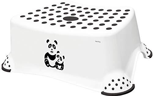 keeeper Panda Marchepied, De 3 à 14 Ans, Antidérapant, Tomek, Blanc