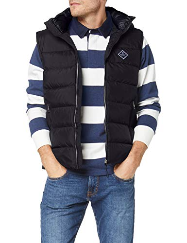 GANT Herren D1. The Active Cloud Vest Jacke, Schwarz, XXL EU