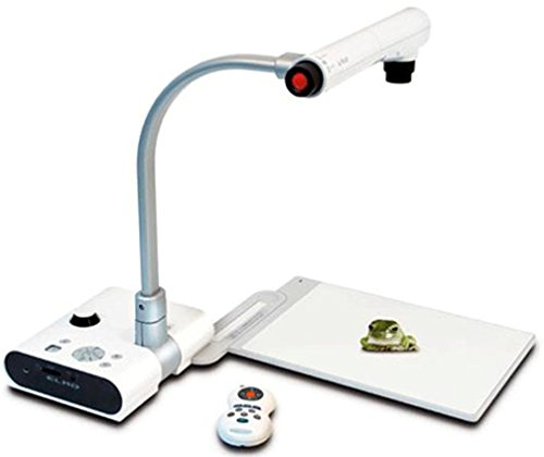 "Elmo 1304 Model TT-02RX Teachers Tool Digital Visual Presenter Document Camera, 1/3"" CMOS, 1490000 Pixels Image Pick-up Element, Effective Pixels 1329 x 1049, Max 30 Frames/sec"