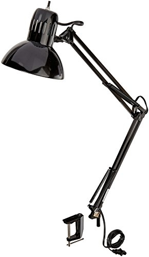 Globe Electric 56963 Metal Clamp - Swing Arm Multi-Joint Desk Lamp