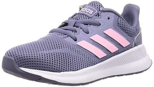 adidas Runfalcon K, Zapatillas de Running Unisex Adulto, Multicolor (Raw Indigo/True Pink/Core Black F36541), 39 1/3 EU