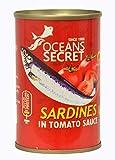 Oceans Secret Sardines in Tomato Sauce 155g - Pack of 12 Combo