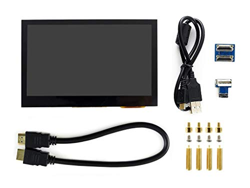 Waveshare 4.3inch HDMI LCD 800x480 IPS Display Supports Various Systems Capacitive Touch Screen Support Jetson Nano,Beaglebone Black, Banana pi, Raspberry pi Raspbian/Ubuntu/Kali/Retropie/WIN10 IOT