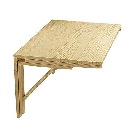 Decoración de muebles Estantes de escritorio de computadora de madera Mesa plegable montada en la pared Escritorio de estudio para niños sólidos Estantes de sala de estar Estante para macetas de co