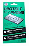 Protect My Phone Ceramic Universal Glass Liquid Screen Protector, Includes Patented Loss Recovery System - TagMyPhone, Works on Any Smartphone, Tablet or Wearable Device
