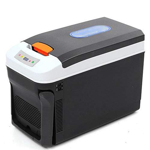 Lieling Mini-koelkast met vriesvak, draagbaar met vriesvak, stil, compact, dual purpose-koelkast, minibar, 12 V, 24 V, voor verschillende cars thuis, office slaapzalen