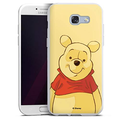 DeinDesign Silikon Hülle kompatibel mit Samsung Galaxy A3 Duos 2017 Case weiß Handyhülle Offizielles Lizenzprodukt Winnie Puuh Disney