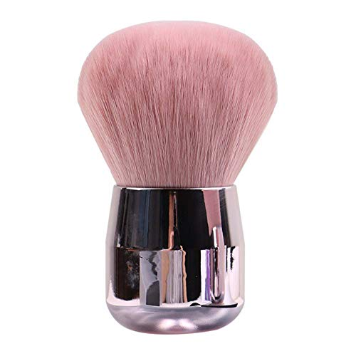 Make-up-Pinsel, rosafarbener Rouge-Pinsel, professioneller Make-up-Pinsel, Puderpinsel für...
