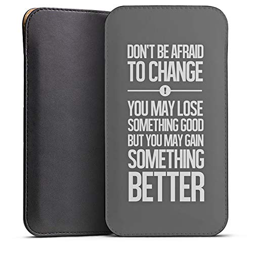 DeinDesign Cover kompatibel mit Wiko Highway Pure Hülle Tasche Sleeve Socke Schutzhülle Motivation Leben Life