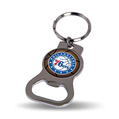 Unbekannt NBA Flaschenöffner Schlüssel Tag, Silber/Blue
