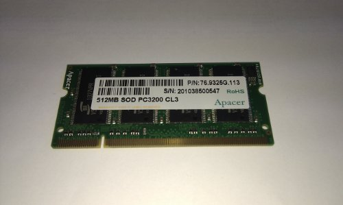 Acer 512MB DDR2 0.5GB DDR2 667MHz memory module - memory modules (DDR2