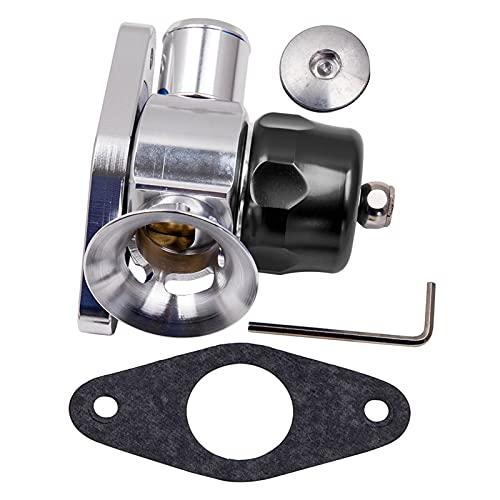 wuwu Ajuste de válvula de soplado Ajustable para Mazda CX7 2.3L 2006-2012 BOV Válvula de volcado Adecuada para el Legado Subaru GT Impreza WRX 2.5L Híbrido