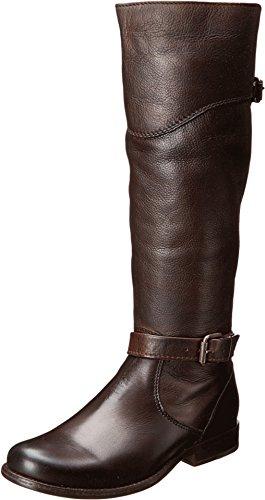 FRYE Phillip Riding Boot - Women's Dark Brown Soft Antique, 6.5