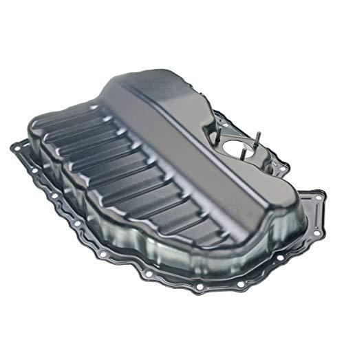 Engine Oil Pan for Volkswagen Beetle CC Passat Tiguan Eos Audi A3 Q3 TT Quattro with Oil Level Sensor