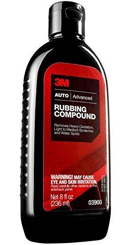 3M Auto Care Rubbing Compound, 03900, 8 oz