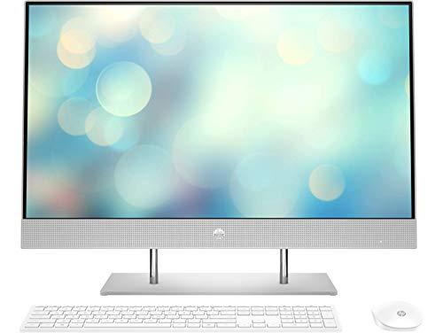 "HP All-in-One 27-dp0051ns - Desktop da 27"" FullHD, AMD Ryzen 5 4500U, 8 GB RAM, 512 GB SSD, AMD Radeon Graphics, Windows 10 Home"