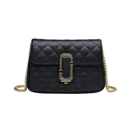 Lingge fashion trend personality small chain female bag spring and summer autumn small fragrance single shoulder diagonal bag wild handbag