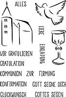DIYスクラップブッキングフォトアルバム用ドイツBIRL透明クリアシリコンスタンプシール装飾クリアスタンプシートM1170