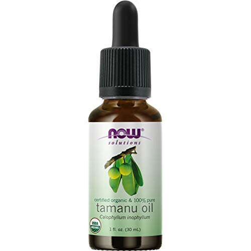 NOW Foods - 100% Pure & Organic Tamanu Oil - 1 fl. oz.