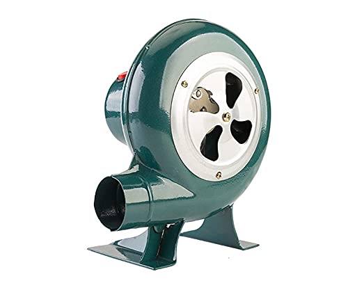 FHKBK Soplador de Barbacoa pequeño para el hogar de 220 V, Ventilador...