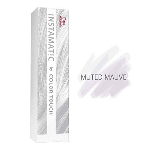 Wella Color Touch Instamatic Muted Mauve for a Pastel purple 60ml by Wella Color Touch