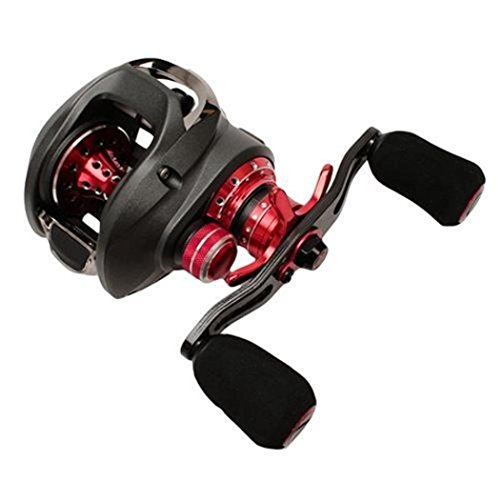 Pinnacle PR10Xi Primmus Xi Baitcast Reel, Gray Body/Red Accent