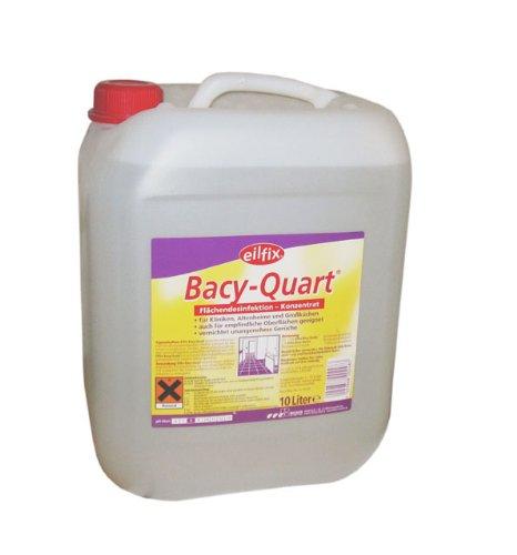 10 ltr. Bacy-Quart Flächendesinfektion Konzentrat Desinfektionsmittel auch für empfindliche Oberflächen