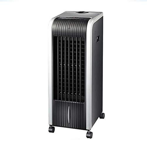 Thuis Bladloze Fan Airco ventilator verwarming en koeling dual-use afstandsbediening muggenmelk mobiele koelventilator kleine airconditioning luchtkoeler Household energiebesparende koelventilator XIU
