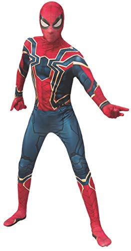 Rubie's Adult Iron Spider 2nd Skin Suit Marvel Avengers: Endgame Iron Spider Skin Suit Adult Sized Costumes, As Shown, Large US