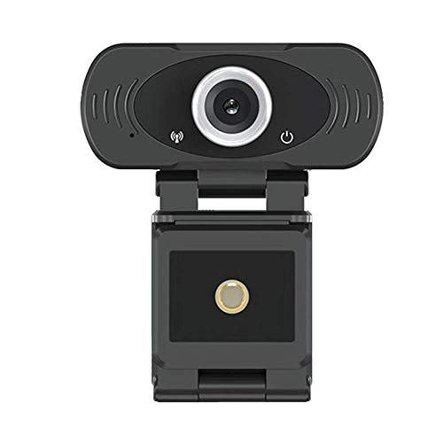 Webcam con micrófono Informática Foto Cámara 1080P HD Webcam Streaming Ordenador Web USB for el Ordenador portátil del Ministerio del Interior PC (Negro) ggsm (Color : Black)