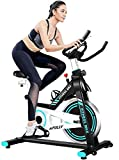 IRIS Fitness Indoor Exercise Bike, Indoor Cycling Stationary Bike Belt Drive with Adjustable