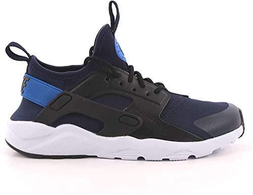Nike Huarache Run Ultra (PS), Scarpe Running Bambino, Multicolore (Obsidian/Signal Blue-Black 410), 29.5 EU