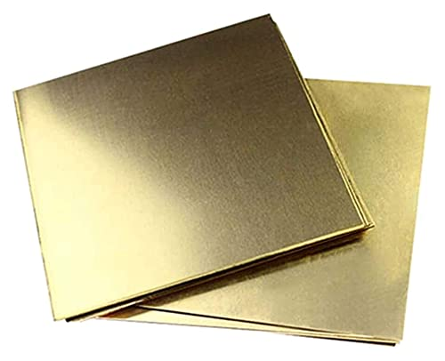 brass metal raw materials HAOKTSB Metal Copper foil Copper Sheet Metal Brass Cu Metal Sheet Foil Plate Smooth Surface Exquisite Organization Thickness 0.02in / 0.5mm,100mmx150mm/3.9inchx5.9inch Brass Plate Brass Plate