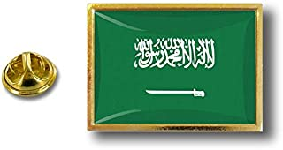 Akacha Spilla Pin pin's Spille spilletta Bandiera Distintivo Badge Arabia Saudita