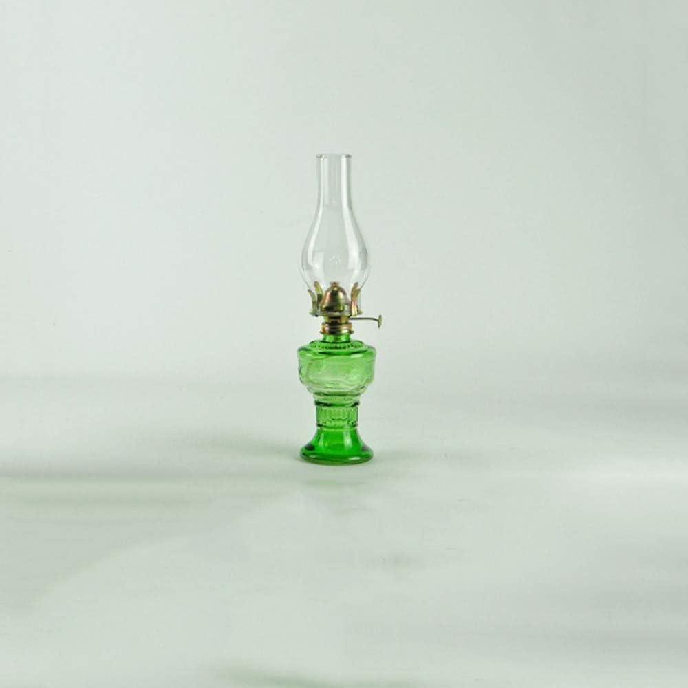 1 X Retro Outdoor Camping Kerosene Lamp Oil Light Lantern Mediterranean Decor