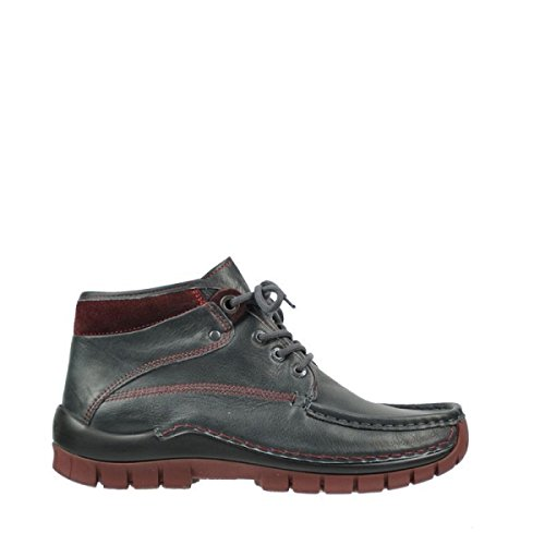 Wolky Comfort Boots Cross Winter - 20240 anthrazit-Bordeaux Leder - 41