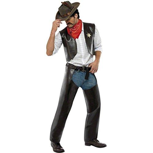 Cowboykostüm Village People Kostüm Outfit Cowboy M 48/50