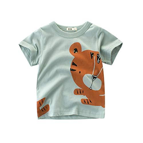 27 KIDS Camiseta Infantil De Algodón De Dibujos Animados para Niños,