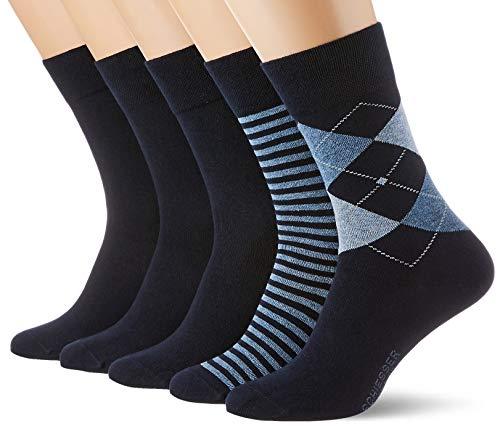 Schiesser Herren Multipack 5 Pack Herrensocken Strümpfe Klassische Socken, Sortiert 10, 43-46 (5er Pack)