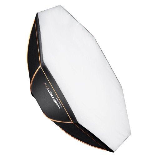 Walimex Pro Octagon Softbox Orange Line 150 cm Durchmesser für Multiblitz P