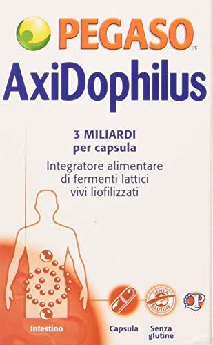 Pegaso 13733 Axidophilus Integratore Alimentare di Fermenti Lattici, 60 capsule