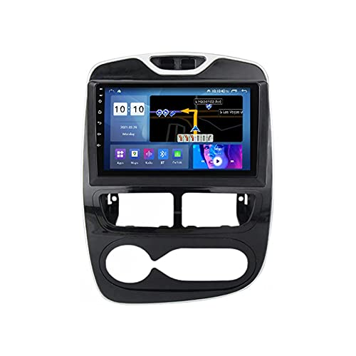 Android 10.0 Auto Radio Stereo Multimedia Player Per R-enault Clio 4 2013-2018 Fm Récepteur GPS Navigazione Supporto Wifi SWC Carplay Bluetooth DSP IPS Touch Screen,M200S