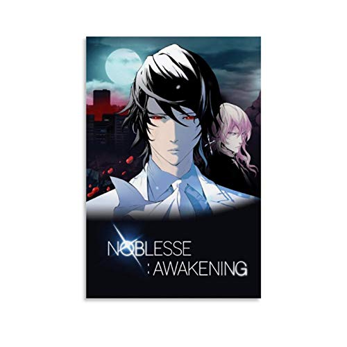 XIAOG Anime Noblesse Awakening Canvas Art Poster and Wall Art Picture Print Modern Family Bedroom Decor Posters 12x18inch(30x45cm)